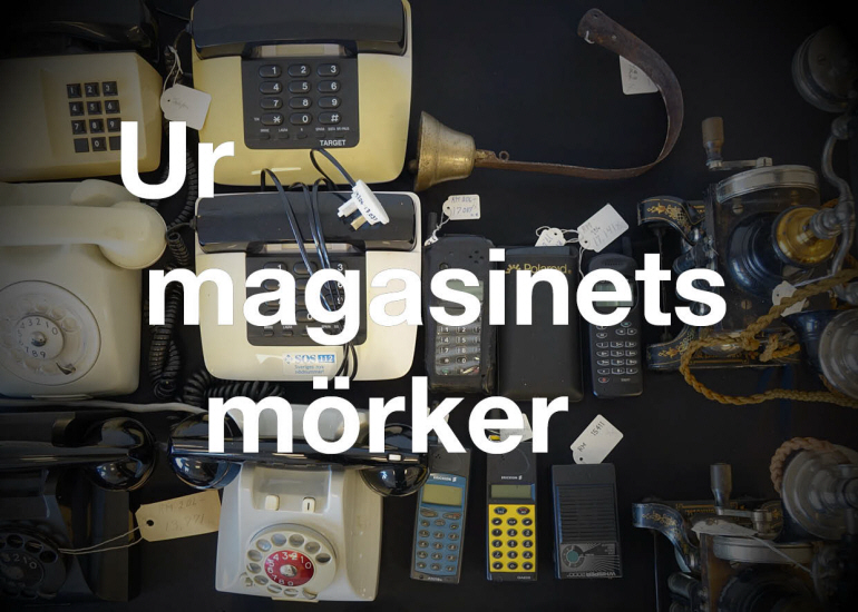 Ur magasinets mörker